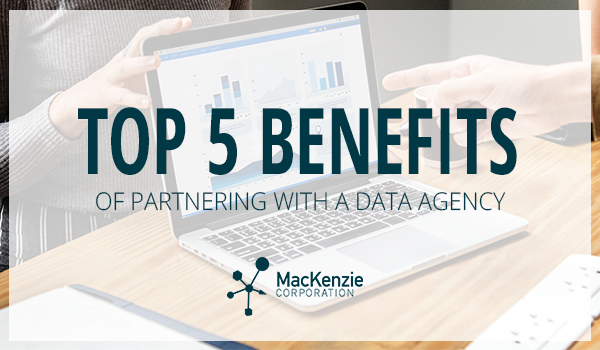 Top 5 Benefits of Partnering With a Data Agency